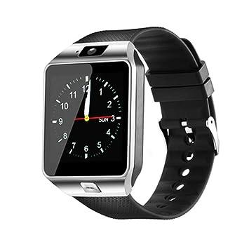 DKHSKITFJRLO Montre Connectée MOCRUX Montre Montre Smart Watch Hommes SIM Carte TF Bluetooth Notefication Rappel Mode