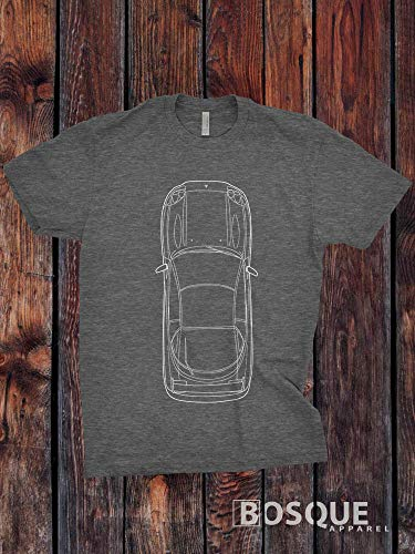 (Blueprint 1999 3000GT VR-4 Twin Turbo Shirt - Ink Printed T-Shirt)
