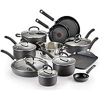 17-Pc. T-fal Ultimate Titanium Nonstick Cookware Set