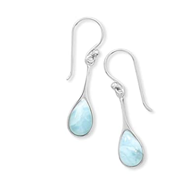 stone s women en goldfilled natural ledaart gold larimar global art earrings aquamarine market rakuten item leda store