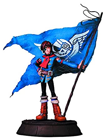 First 4 Figures Sega All Stars Skies Of Arcadia Vyse Statue Amazoncouk Toys Games