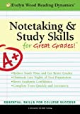 Evelyn Wood Notetaking and Study Skills for Great Grades, PUEI, 1933328916
