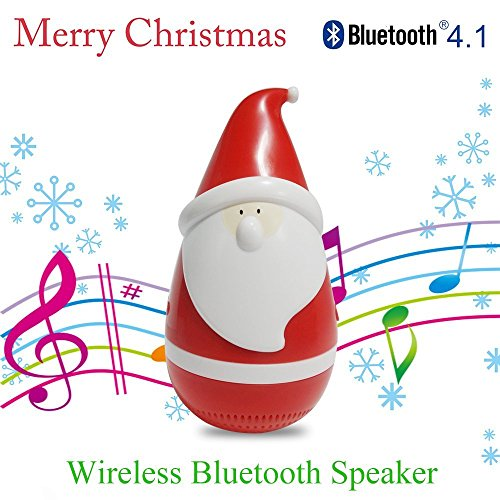 Christmas Abbott Husband - Creative Mini Funny Tumbler Santa Claus Bluetooth Speaker Wireless Smart Bluetooth Bass Music Speaker Audio Speaker Best Christmas Gifts