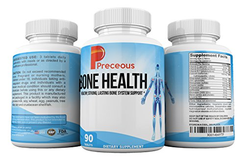 Preceous Bone Health Supplements The Bone Healing Vitamins And Joint Supplements