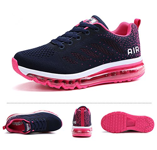 Prune Homme Femme Style Running Respirante Air Sneakers Sport Fitness Multicolore Chaussures bleue Baskets Gym q16w7qR