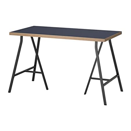 Ikea Linnmon/Lerberg 392.142.84 - Mesa (Tamaño 47), Color Azul y ...