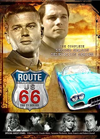 Amazoncom Route Season Martin Milner George Maharis - Route 66 tv show car