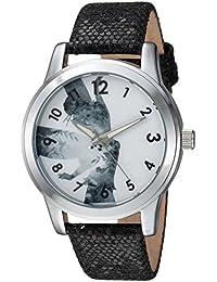 Women's 'Tinker Bell' Quartz Metal Casual Watch, Color:Black (Model: WDS000347)
