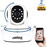 Baby Monitor Home Wifi Wireless Security Camera System 720P HD Pan Tilt (Day/Night Vision,2 Way ...