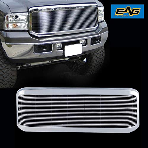 EAG Chrome Billet Grille+Shell for 05-07 Ford Super Duty F250/F350 ()