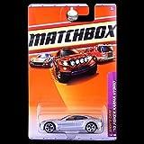 Matchbox 2010-1/100 Sports Cars '10 Fisker Karma Hybrid SILVER 1:64 Scale