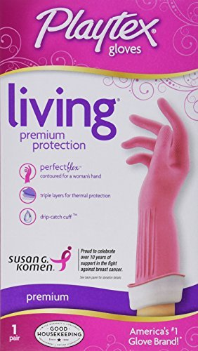 Playtex Gloves Living Premium Protection, Large 1 Pair