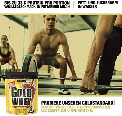 [Gesponsert]Weider Gold Whey Protein Kokosnuss-Cookie, Low Carb, Eiweißpulver für Fitness und Bodybuilding, 500g