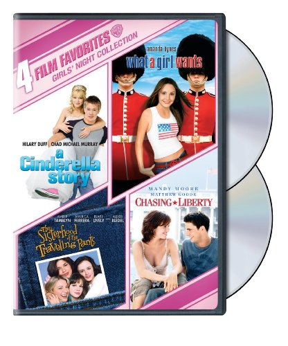 Cinderella Story Dvd - 4 Film Favorites: Girls' Night Collection (A Cinderella Story / Chasing Liberty / Sisterhood of the Traveling Pants / What a Girl Wants)
