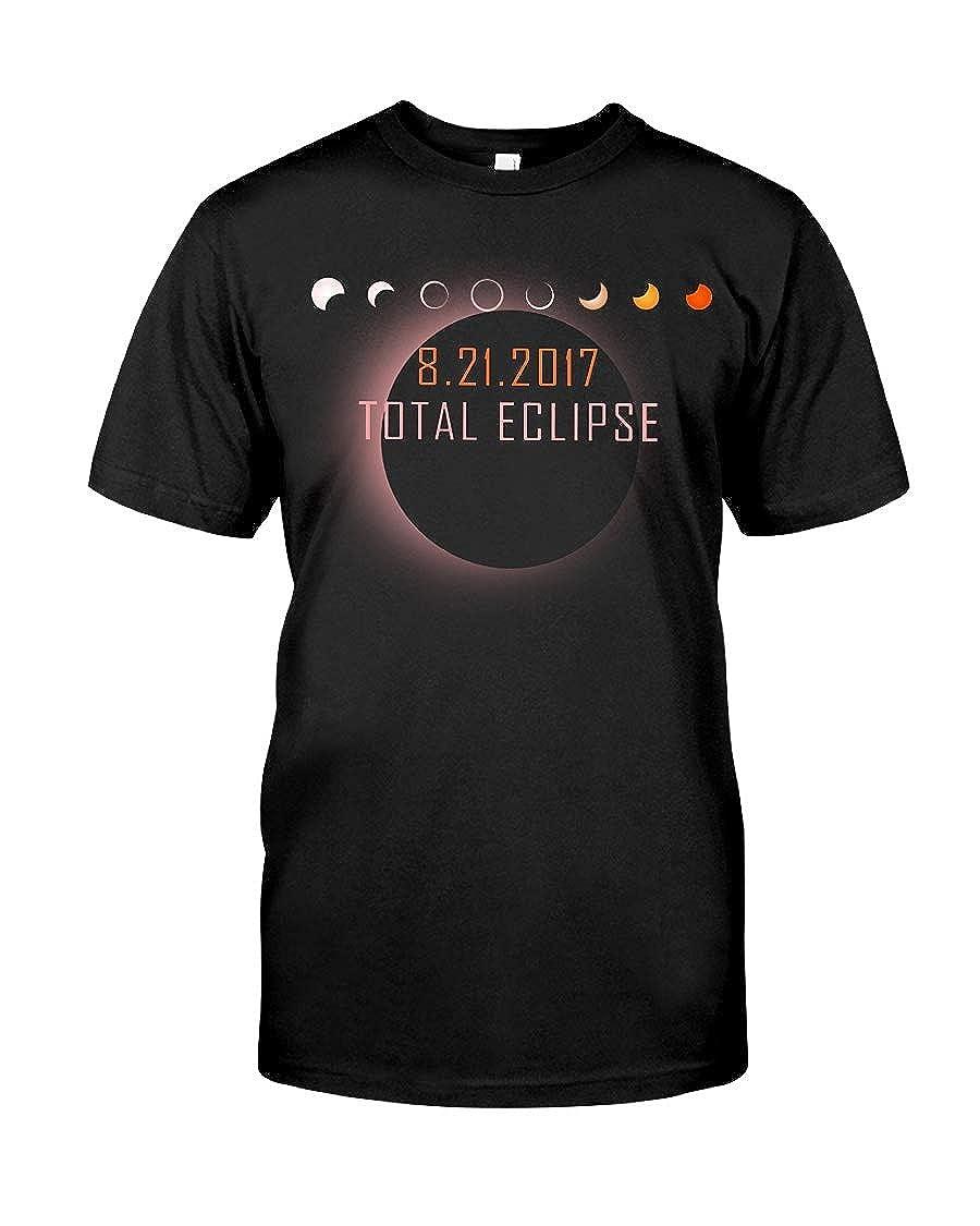 Donna Moritzs Total Eclipse 2017 Classic T-Shirt Black 5XL