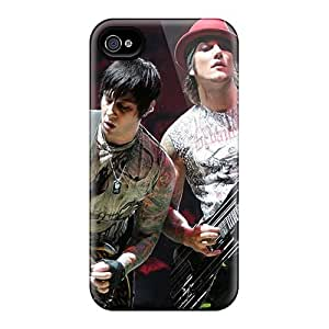 Premium Tpu Avenged Sevenfold Band A7X Cover Skin For Iphone 4/4s