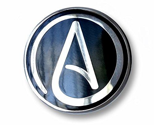 Atheist Symbol Enamel Lapel Pin