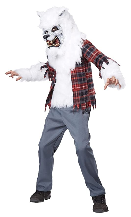 California Costumes White Werewolf Costume, One Color, 12-14