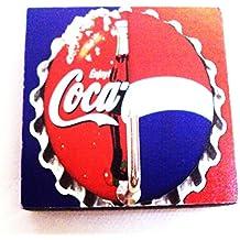 Agility Bathroom Wall Hanger Hat Bag Key Adhesive Wood Hook Vintage Coca Cola & Pepsi's Photo