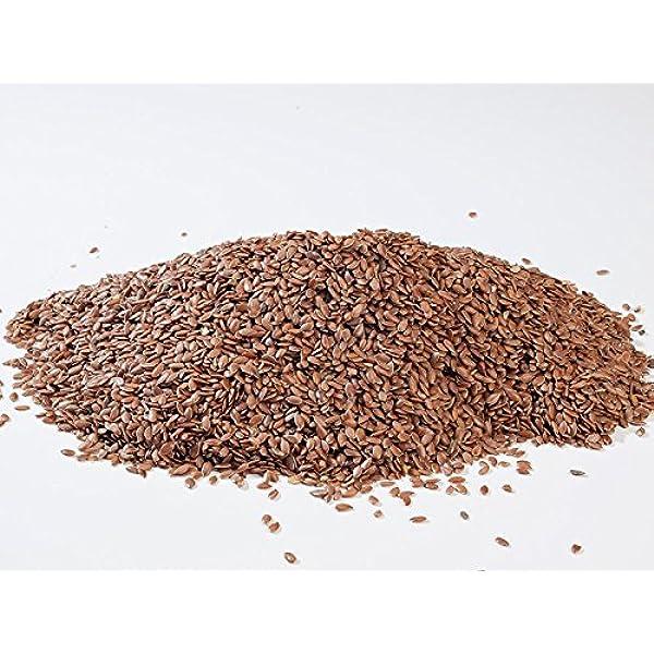 Semillas de Lino marrón (Linaza) 1 kg: Amazon.es: Alimentación y bebidas