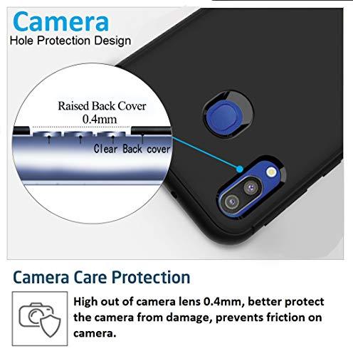 Ferilinso Funda para Samsung Galaxy M20, Ultra [Slim Thin] Resistente a los arañazos TPU Caucho Piel Suave Silicona Funda Protectora para Samsung ...