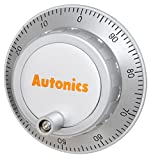 AUTONICS ENH-25-2-T-24 Encoder, Incremental, Hand Wheel, 25 PPR, 'L' Clickstopper, Totem pole output, 12-24 VDC