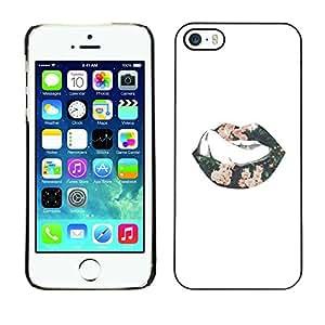 """For Apple iPhone 5 / iPhone 5S Case , Luces Rosa Blanco Amor Día de San Valentín"""" - Diseño Patrón Teléfono Caso Cubierta Case Bumper Duro Protección Case Cover Funda"""