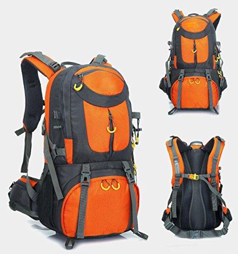 Alpinismo Al Aire Libre Mochila De Viaje 50L,Orange-40L orange-50L