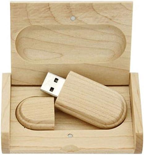 Yaxiny chiavetta USB 2.0 in legno dacero con scatola di legno 2.0 2.0//32GB