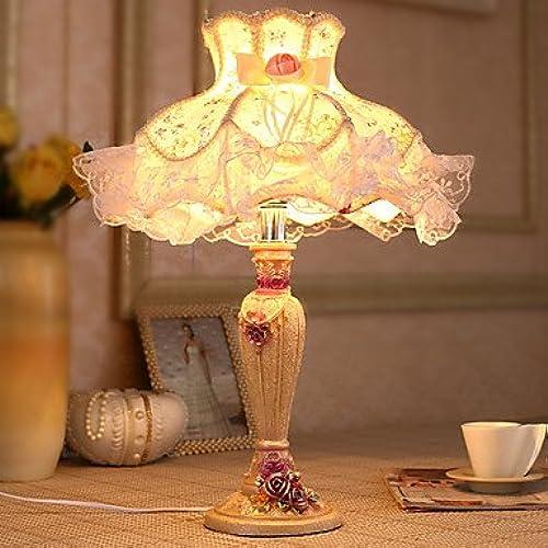 Lampe de chevet Lampes de table Protection des yeux traditionnel/Classique Résine, 51* 40cm.