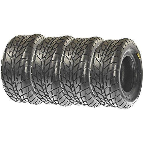 Replacement ALL TERRAIN ATV UTV 6 Ply Tires 225/45-10 225/45x10 Tubeless A021, [Set of 4] ()