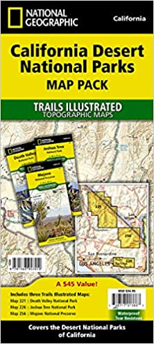 California Desert National Parks [Map Pack Bundle] (National ...