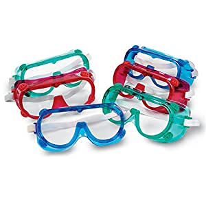 Amazon.com: Learning Resources Colored Safety Goggles ...