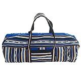 Cheap Yoga Mat Bag – Full Zip, Handmade, Large, Zip-pocket, Exercise Yoga Mat Bag (5 colors) (Blue)