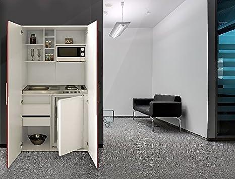 Ufficio Rosso E Bianco : Respekta single ufficio pantry cucina mini armadi cucina bianco