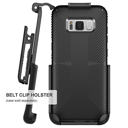 Belt Clip Holster for Speck Presidio Grip Case - Samsung Galaxy S8 Plus (S8+) by Encased (case not Included)