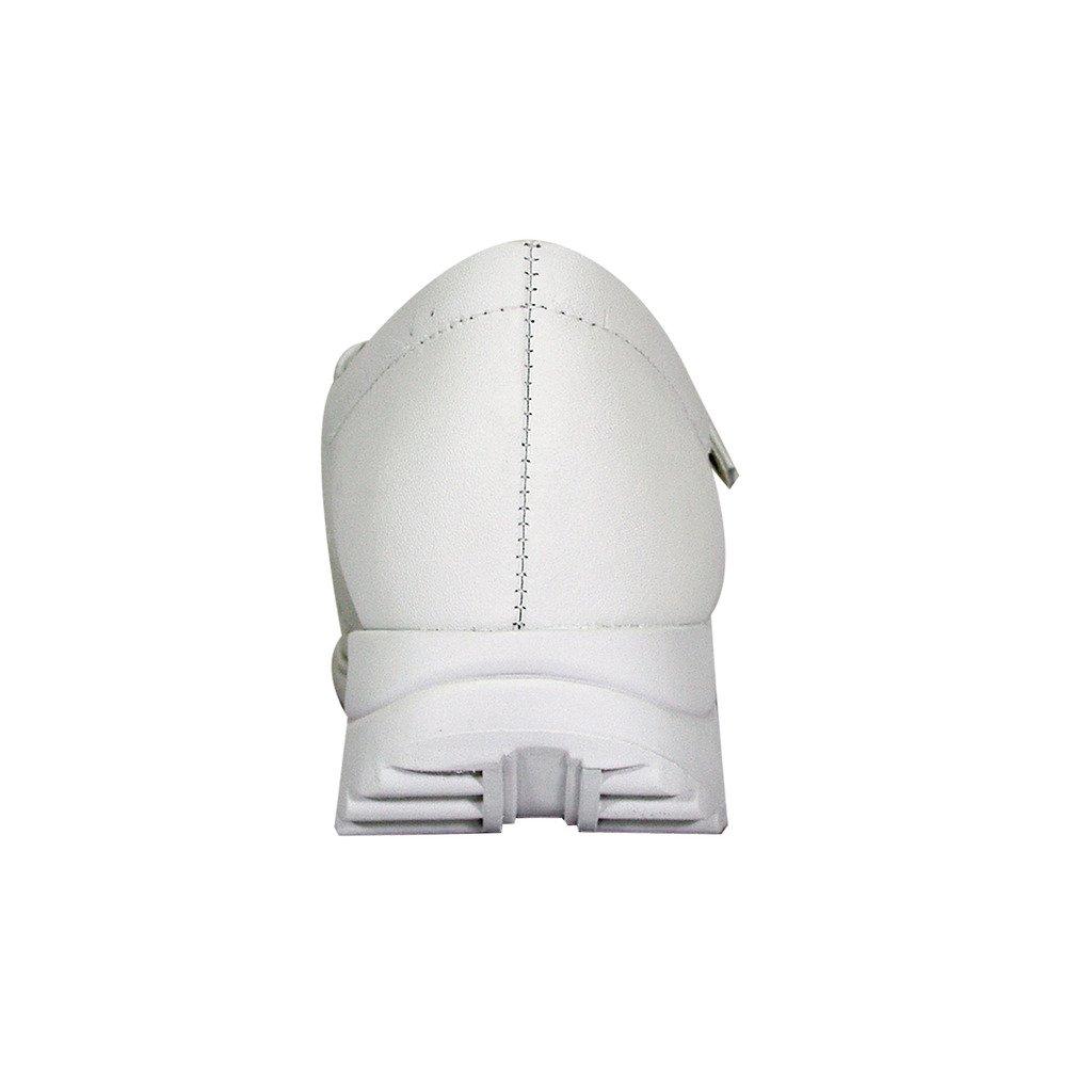 24 Hour Comfort  Lauren Women Wide Width Buckle Comfort Shoes White 11 by 24 Hour Comfort (Image #4)