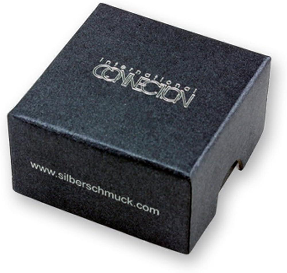Siegelring Edelstahl mit Ihrer Gravur Front achteckig mattiert personalisiertes Geschenk