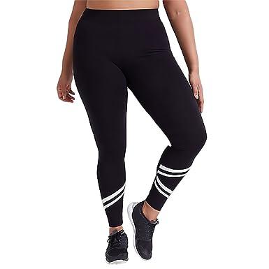 wlgreatsp Pantalon d entraînement Grande taille Fitness Gym Pilates Sport  de base GYM course à pied Leggings Pantalon d  c48232b1b65
