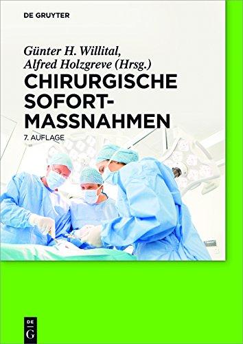 Chirurgische Sofortmaßnahmen (German Edition)