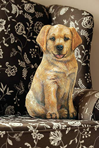Yellow Lab Door Stop | Decorative Doorstopper | 100% Made in The U.S.A | Real Artwork | Perfect Gift for Lab Lovers