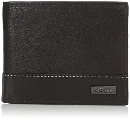 Guess Men's Multi Card Passcase Wallet,Black,One - Guess The 1 Brand