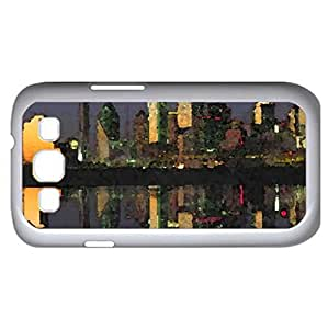 Dallas Texas (Skyscrapers Series) Watercolor style - Case Cover For Samsung Galaxy S3 i9300 (White)