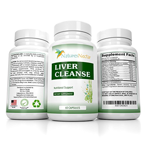 Liver Support Supplements – Cleanse and Detox Formula For Fatty Liver and Active Liver Also Liver Detox – Rescue – Aid Health and Repair – Liver Care Pill with Herbs Milk Thistle Dandelion Lipoic Acid
