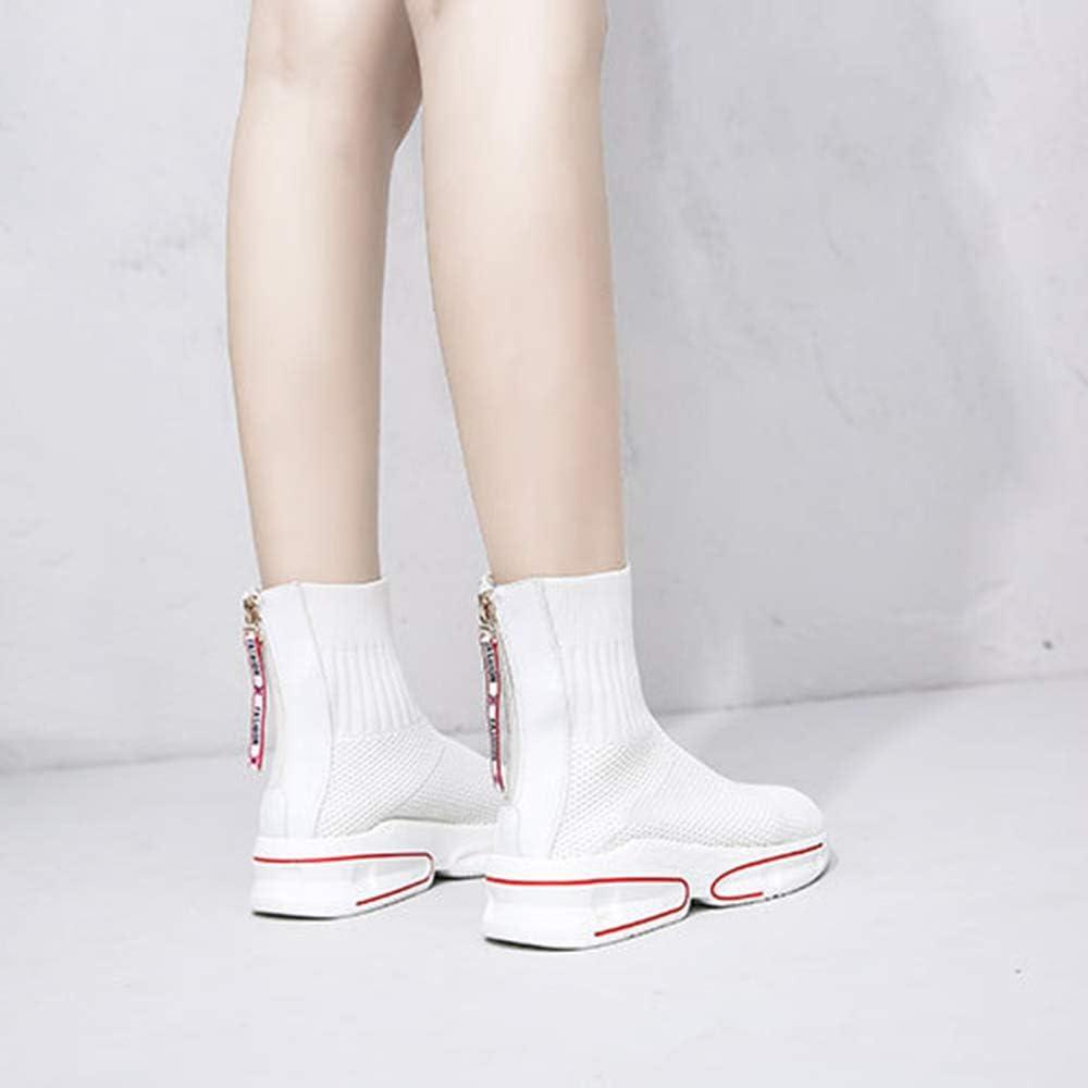 Topind , Baskets Mode Pour Femme Blanc