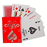 Regal Games Casino Standard Poker Size Playing Cards (Red)
