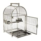PawHut 25' Dome Top Stainless Steel Travel...