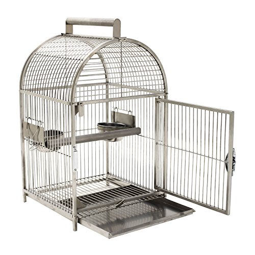 MTN-G Portable Bird Cages Carrier Cockatiel Parrot Macaws...
