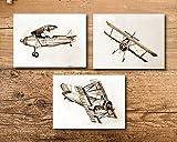 Airplane Nursery Theme Art