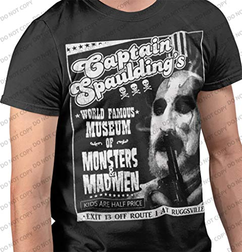 Death Is Coming Captain Spaulding - Monsters and Madmen V2 T-Shirt -